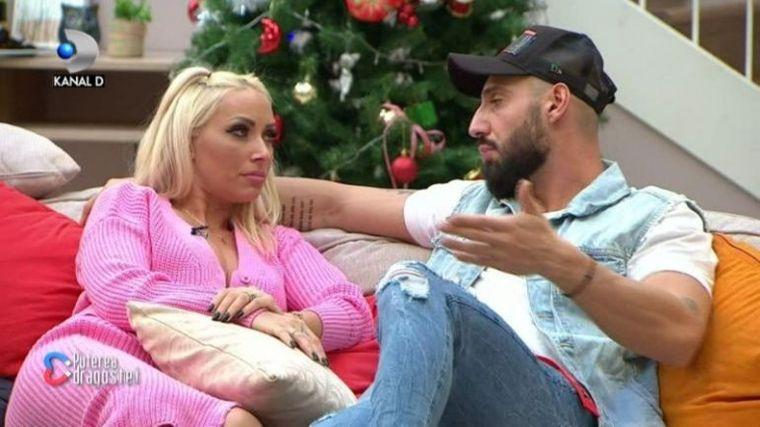 Marius si Andreea Pirui, in ipostaze intime in emisiune? Incredibil unde isi tinea mana