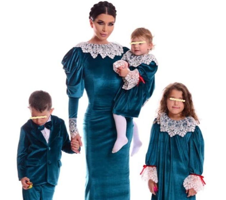 Elena Băsescu si copiii