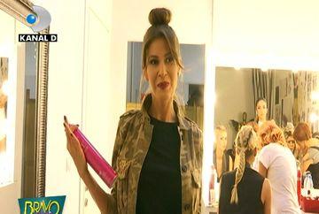 """Cristina Mihaela, remarci acide in culise la adresa juriului """"Bravo, ai stil!"""" Ce a deranjat-o pe concurenta atat de tare. Iata cateva imagini in premiera"""