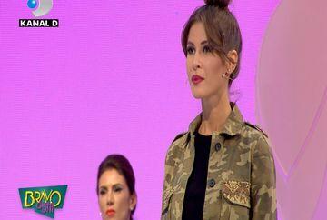 """Maurice Munteanu o incurajeaza pe Cristina Mihaela: """"Cred ca esti pregatita pentru un soi de performanta!"""" Cum au comentat de data aceasta juratii """"Bravo, ai stil!"""" alegerile vestimentare ale concurentei"""