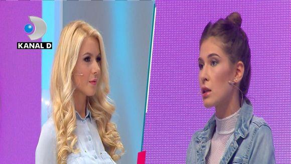 """Cristina Mihaela a luat-o in vizor pe Andra: """"Nu imi convine ca o alta concurenta sa primeasca felicitarile juriului daca are un element in vestimentatie care se repeta!"""""""