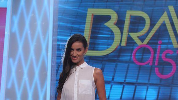 """Andreea a facut o marturisire uimitoare in cadrul show-ului """"Bravo, ai stil!"""" Nimeni nu si-ar fi imaginat cine i-a dat un tricoul cadou"""