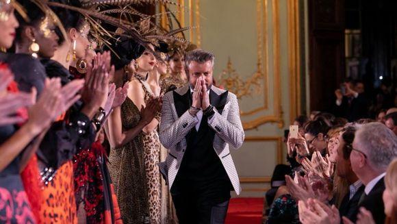 Catalin Botezatu a lansat colectia ''ANIMAL INSTINCT'' in cadrul Paris Fashion Week