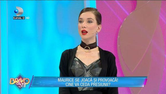 Corina, deranjata de comentariile lui Maurice: ''Pe Corina fata o strica''