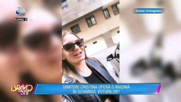 Incredibil! Cristina Zlotii ofera o masina in schimbul voturilor! Scandal monstru in platou