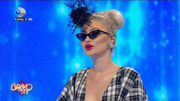 Bianca s-a inspirat de la Iuliana, fosta concurenta ''Bravo, ai stil''? Juratii au gasit asemanarile