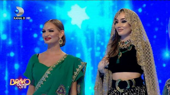 Cristina sau Nadina? Cine este concurenta care a PARASIT competitia ''Bravo, ai stil''