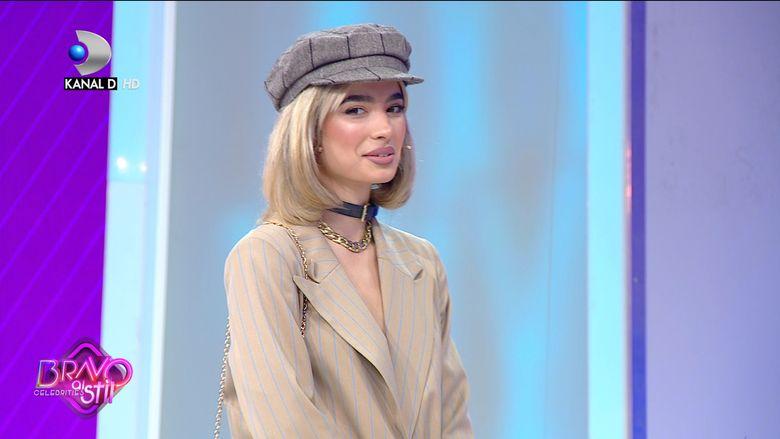 Calina Dumitrescu nu a facut o impresie prea buna juratilor de la Bravo, ai stil Celebrities!