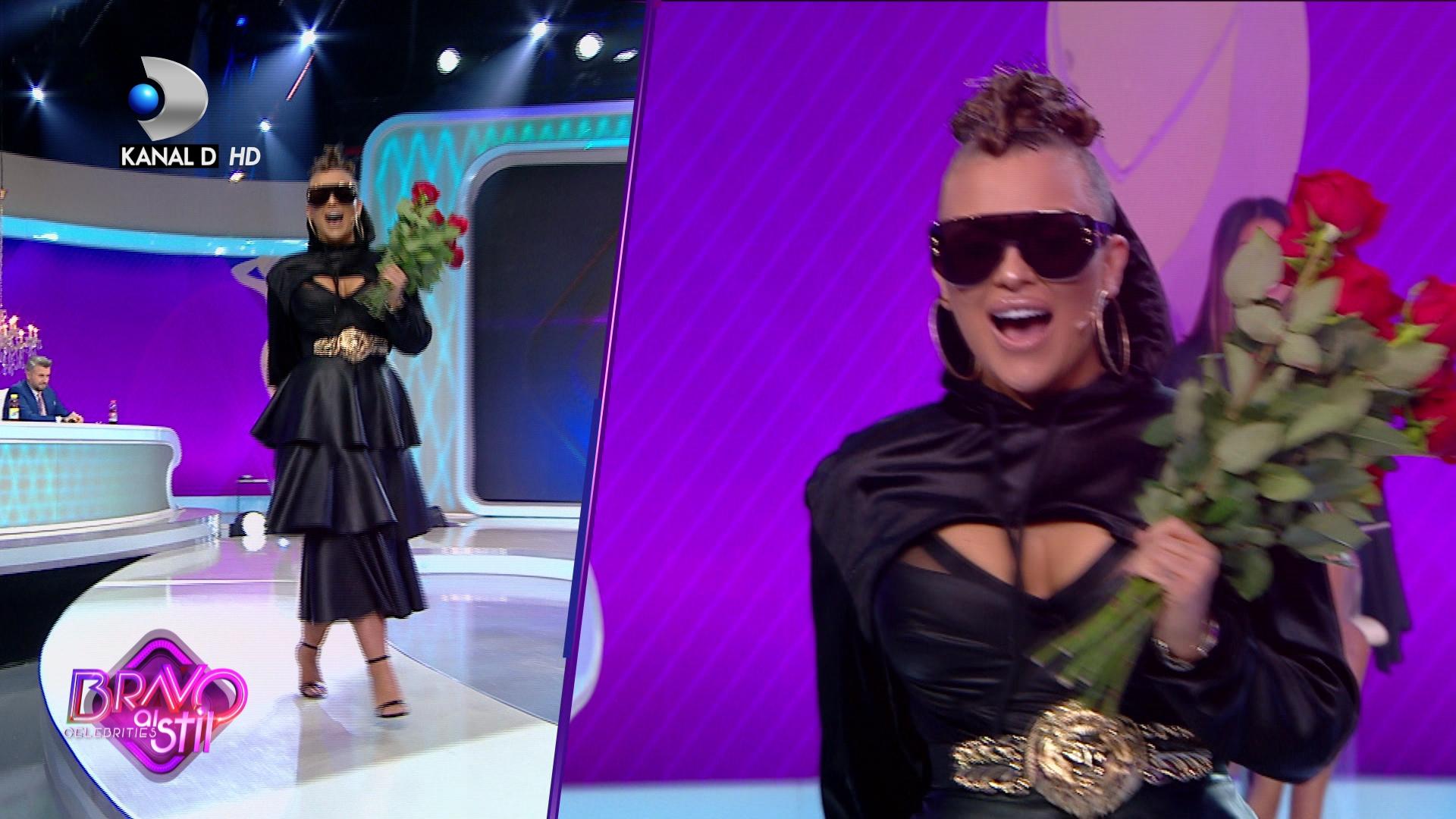 Oana Radu a cantat in direct la Bravo, ai stil Celebrities, insa Catalin Botezatu nu a fost deloc impresionat