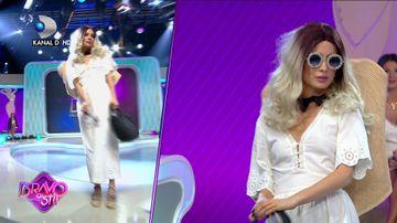 Calina Dumitrescu, pusa la punct de TOTI juratii Bravo, ai stil Celebrities! Cum a dat-o in bara concurenta
