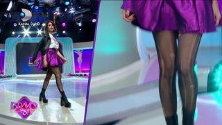 Deea Codrea a venit cu ciorapii rupti la Bravo, ai stil Celebrities! Ce reactie au avut juratii?
