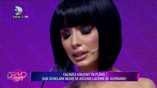 Calina Dumitrescu a izbucnit in plans in timpul emisiunii! Ce s-a intamplat?
