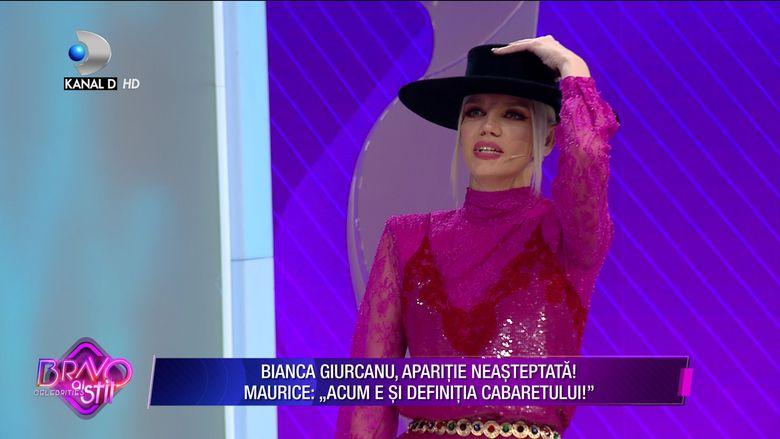 Bianca Giurcanu s-a propus pe gipsy, dar nu i-a dat pe spate pe jurati. Ce sfat i-a dat Maurce cencurentei