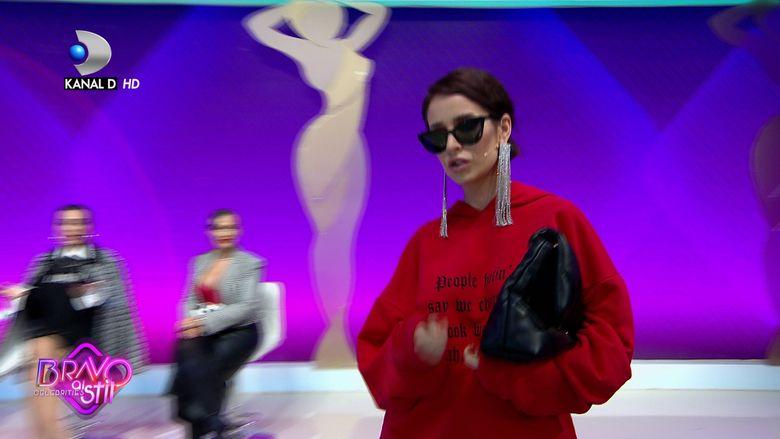 Deea Codrea a venit in hanorac si a starnit discutii la Bravo, ai stil Celebrities. Cum a decurs jurizarea