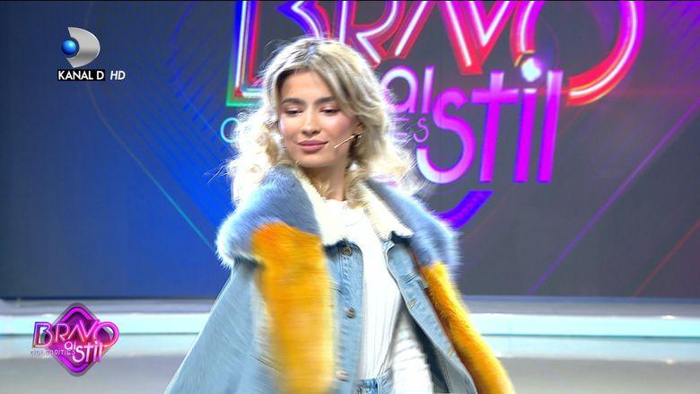 Calina Dumitrescu i-a impresionat la maxim pe jurati. Ce a facut concurenta Bravo, ai stil Celebrities!