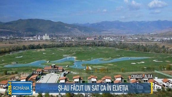 La cativa kilometri de Alba Iulia exista o comuna care ar putea rivaliza oricand cu una din Elvetia! Cu bani europeni investiti cu cap si idei preluate din Occident, Ciugudul este acum cea mai civilizata localitate din tara! Nu exista someri si nici asist