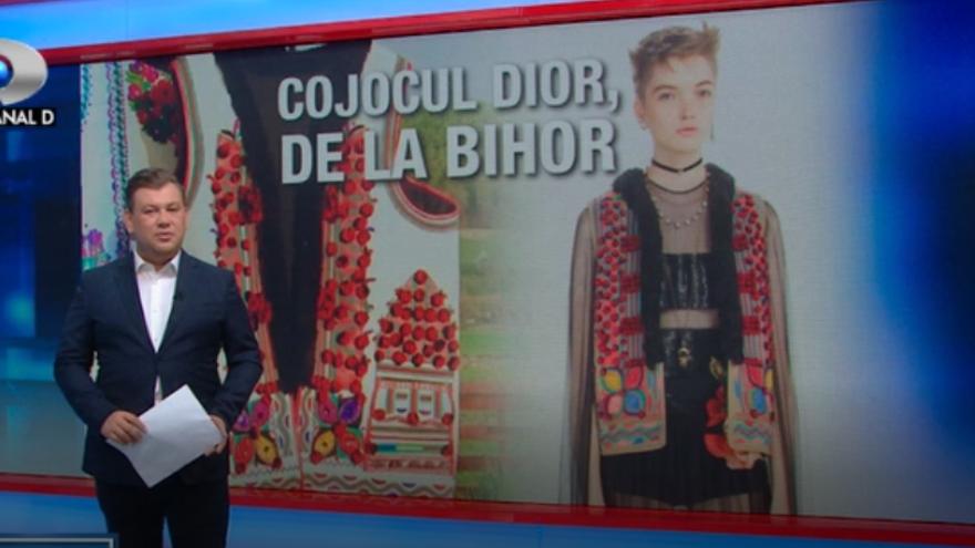 "Cojocul bihorean a ajuns in vitrina exclusivista a magazinului ""Christian Dior""! Piesa a fost lansata intr-o colectie unica haute couture si vanduta cu 30 de mii euro! Acasa, in Tara Beiurului, sprijiniti de cativa tineri ambitiosi, mesterii populari au p"