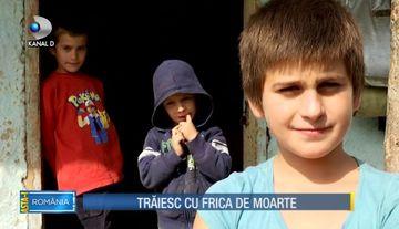 Editia din 8 octombrie 2017 - O femeie cu 10 copii traieste cu frica de moarte!