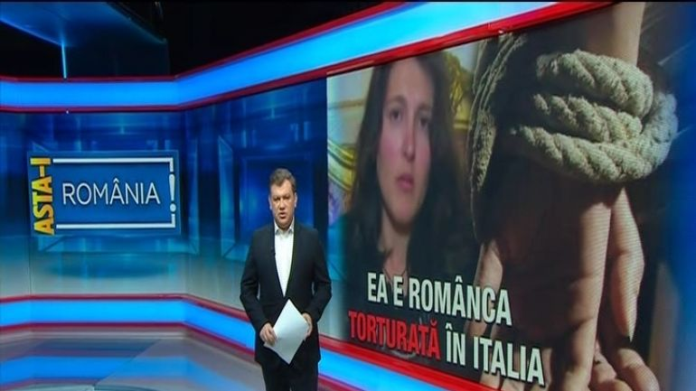 Povestea romancei din Calabria, sechestrata, torturata, si tinuta in lanturi de catre sotul ei italian
