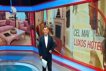 Va invitam in cel mai luxos hotel din Romania! Iata cat costa o singura noapte in dormitorul imperial cu draperiide matase si pereti acoperiti cu foita de aur!