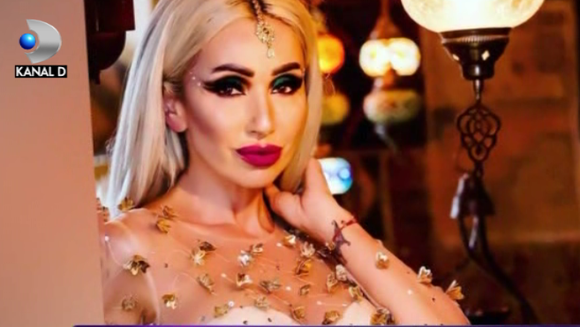 Sonia Trifan, sedinta foto in stil oriental! Iata in ce ipostaze incendiare a pozat vedeta in decorul special, care a purtat-o cu gandul la insoritul Dubai!