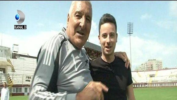 Rica Raducanu, show la test de vedeta! Fostul sportiv a fost coplesit de amintiri cand a pasit pe stadionul Giulesti al echipei sale de suflet, Rapid!