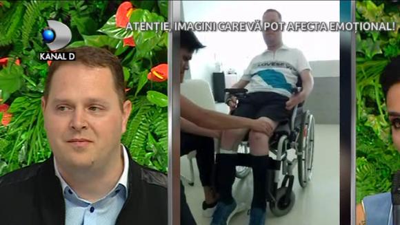 Lupta pentru o viata normala continua pentru Razvan Iordache! Tanarul s-a operat in Thailanda si spera ca intr-o zi sa poata merge din nou! Iata cat mult a contat pentru el si familia sa ajutorul venit din partea Adelinei Pestritu!