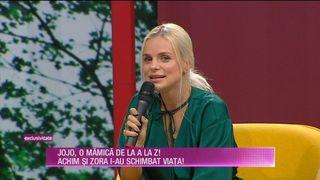 EXCLUSIV! Jojo a vorbit, la TEO Show, despre CASATORIA CU actorul Paul Ipate, cu care are deja un copil! Ne-a spus totul despre relatia lor