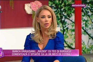 """Bianca Dragusanu, """"pedepsita"""" sa comenteze o intalnire de la """"Te vreau langa mine"""" ca pe un meci de FOTBAL! Uite cum il imita pe celebrul Ilie Dobre"""