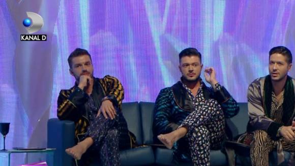 "Victor Slav, Bogdan Vladau si George frang inimi chiar si in pijamale! Iata cum au fost surprinsi cei trei ""magnifici"" pe platoul emisiunii ""Bravo, ai stil!"""