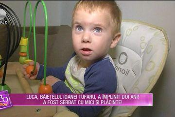 Luca, fiul Ioanei Tufaru, a implinit doi ani! Parintii si nasa l-au sarbatorit la un restaurant! Uite ce profesie si-ar dori Ioana sa urmeze fiul ei