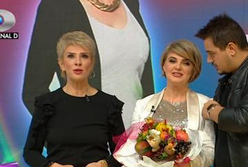 """Silvia Ionita, prezentatoarea stirilor Kanal D, aniversare cu peripetii la """"Teo Show""""! Iata ce surprize inedite a primit din partea colegilor ei!"""