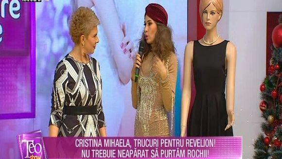 Cristina Mihaela ne spune ce sa purtam de Revelion pentru a arata impecabil!