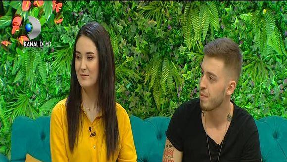 Stefan si Viorela, impreuna la ''Teo Show''! Viorela a spus totul despre casatorie si despre sarcina: ''Sa avem si un copil''