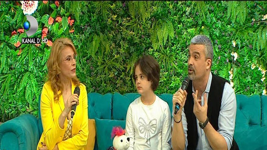 Monica Davidescu si Aurelian Temisan, pentru prima oara alaturi de fiica lor, la ''Teo Show''