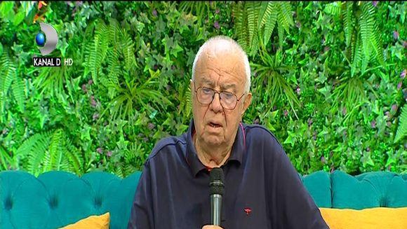 Adevarul despre starea de sanatate a lui Alexandru Arsinel! Actorul a venit de ziua lui la ''Teo Show''