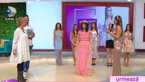 Cristina Mihaela si secretul purtarii nuantelor pastelate