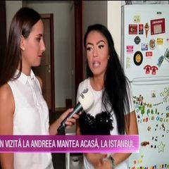 Cum se pregateste Andreea Mantea de filmarile ''Puterea dragostei''! Imagini NEMAIVAZUTE din casa ei din Turcia