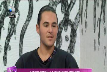Mario Fresh, la un pas de MOARTE! Declaratii EXCLUSIVE la ''Teo Show''