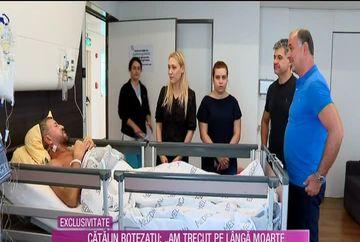 EXCLUSIV Catalin Botezatu, primele declaratii de pe patul de spital: ''Nu credeam ca o sa am niste DURERI atat de MARI''