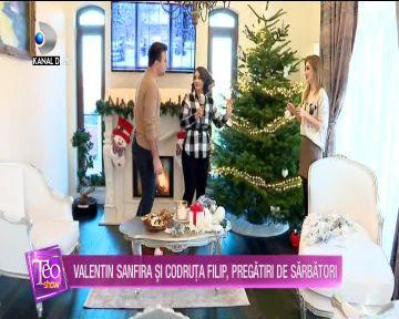 Valentin Sanfira si Codruta Filip, pregatiri de sarbatori! VIDEO