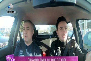 Test de vedeta: Orlando, omul cu 1000 de voci!