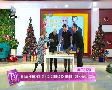 Mihai Mitoseru si Victor Slav, pusi la treaba in direct, la ''Teo Show''