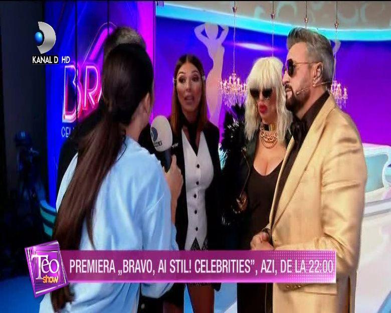 Ilinca Vandici si juratii ''Bravo, ai stil Celebrities'', primele declaratii inainte de marea premiera din aceasta seara de la 22:00