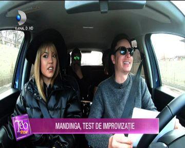 Mandinga, test de improvizatie! Iata ce show au facut in masina!