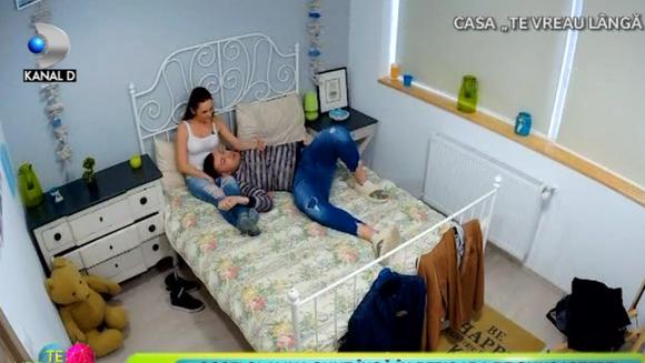 "Momente inedite in casa ""Te vreau langa mine""! Costi si Alina sunt in perioada de cunoastere! Iata ce descoperire face acesta!"