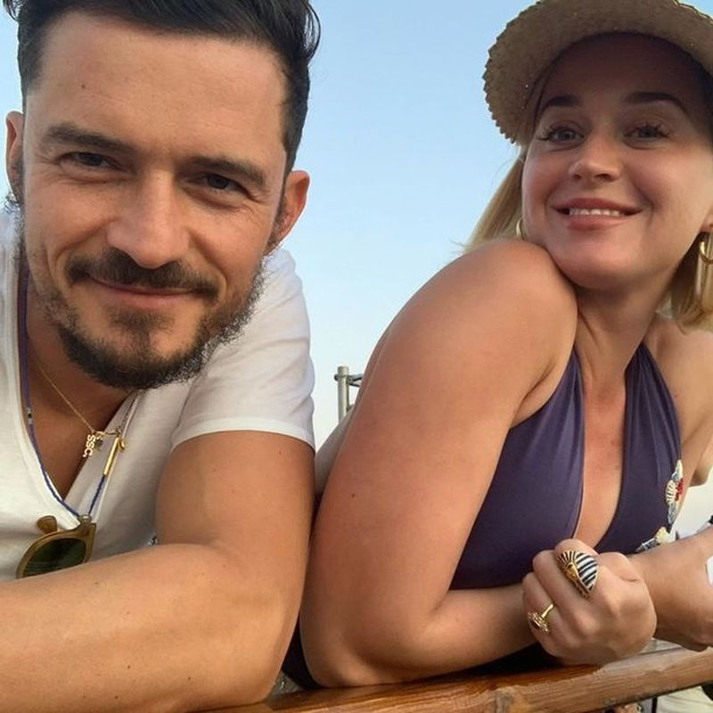 Orlando Bloom și Katy Perry