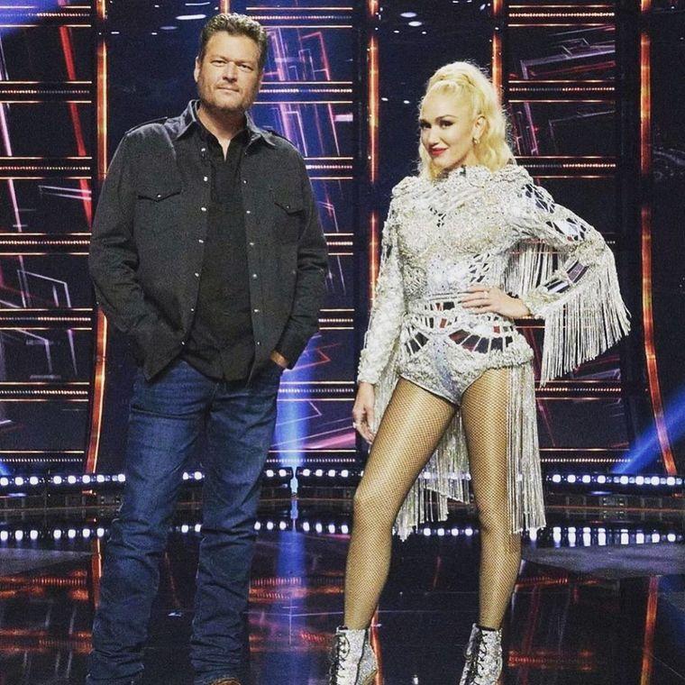 Gwen Stefani și Blake Shelton