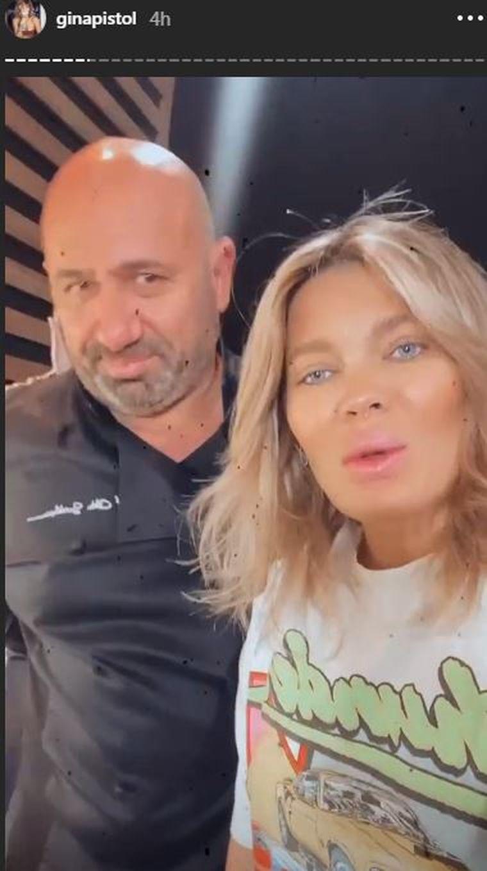 Gina Pistol și Cătălin Scărlătescu