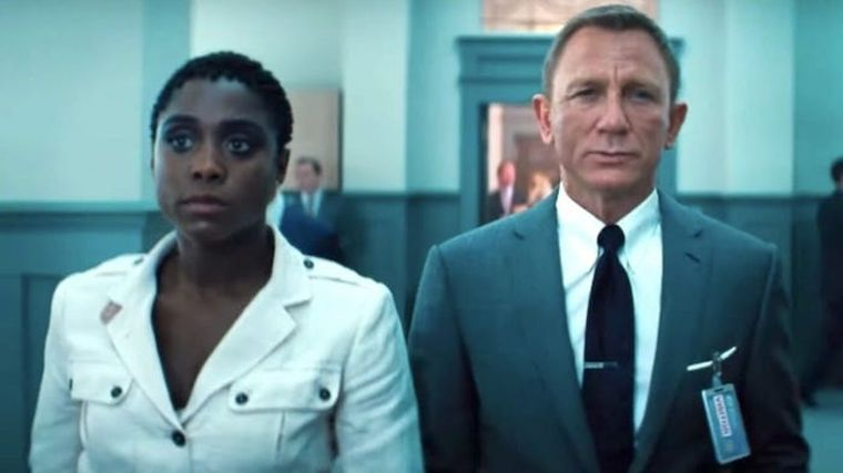 Lashana Lynch și Daniel Craig